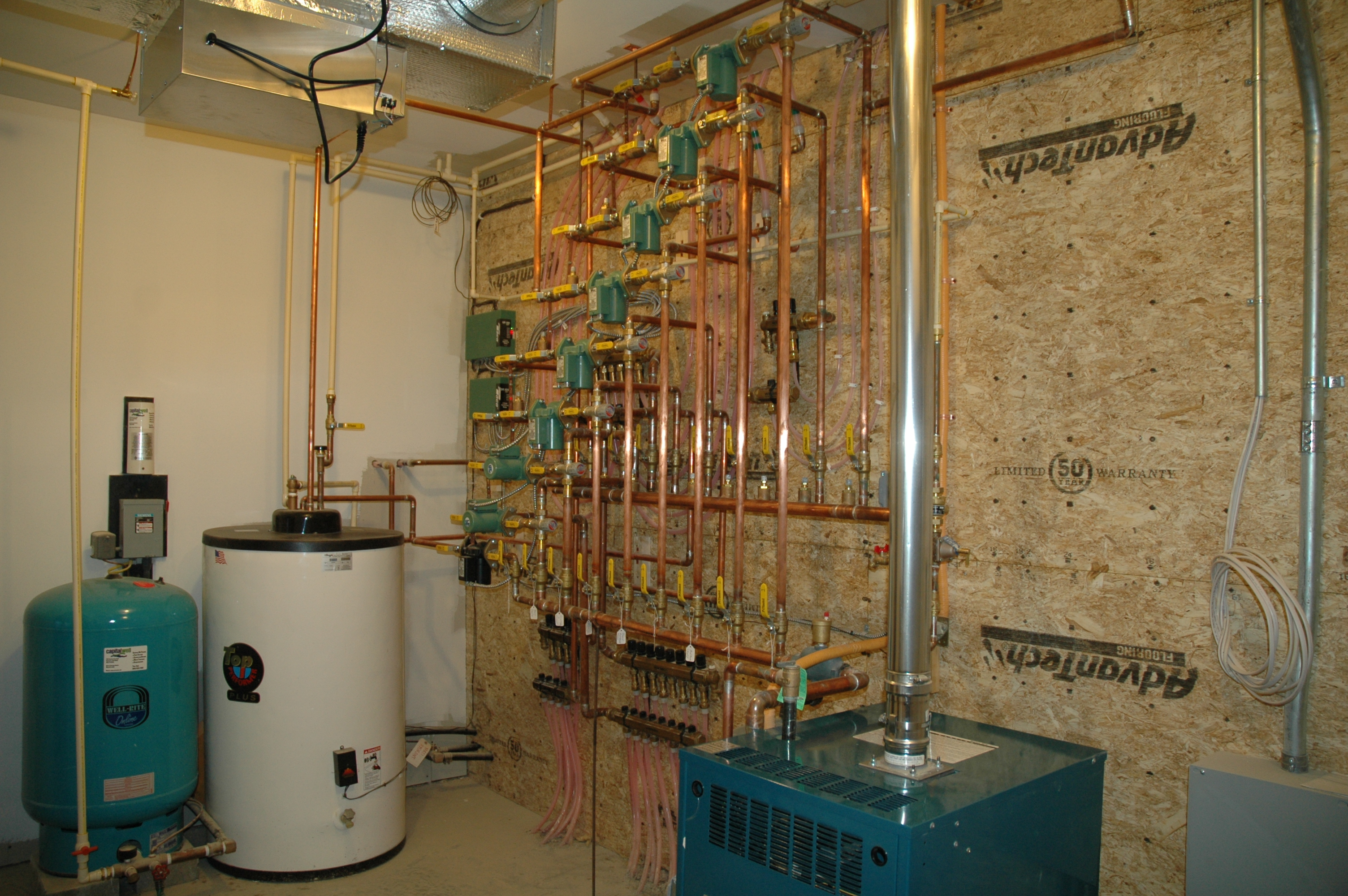 gas oil radiant and baseboard heating defosses plumbing and